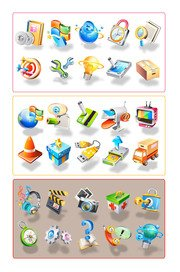 Compilation of icons