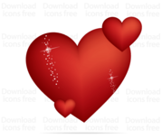 Free Red Valentines Heart