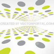 PERSPECTIVE DOTS VECTOR ABSTRACT GRAPHICS.eps