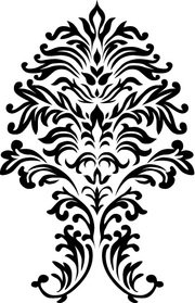 Free Vector: Seamless Floral Ornamental Pattern