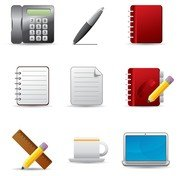 beautiful office icons