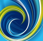 Hi-Tech Swirl Abstract Background