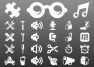 Technologie Icons Set