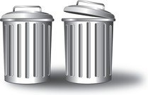 Free Vector Trash Can