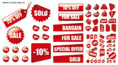 Red fire sales Decorative