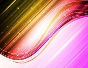 Abstract Colorful Waves