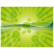 ABSTRACT GREEN SUNBEAM VECTOR BACKGROUND.eps
