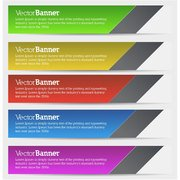 COLORFUL BANNERS VECTOR.eps