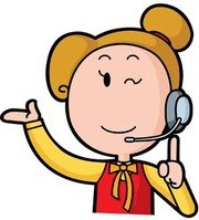 clipart phone operator - Clipground