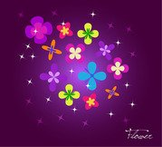 Free vector about floral background