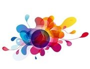 Abstract Background Vector Colorful