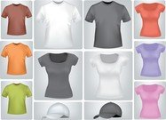 Shirts And Tshirts Of Various Styles