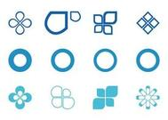 Abstract Circles And Icons