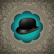 Gentleman Hat Background