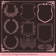 Europeanstyle Lace grens Vector Classic