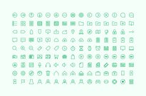 135 Hard One Icons