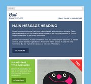 Boxi Email PSD Theme