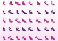 High Heel Schuhe Set