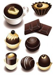Stock Ilustrations Chocolate-Vector
