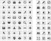50 + aantal Glass Icons