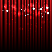 Abstract Sparkling Red Curtain Background Free Vector Art