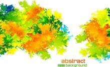 vector abstract background texture leaves