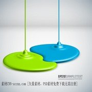 Coating Dripping Shape