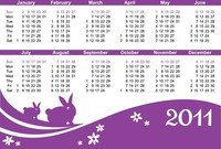2011 Calendar Year Of The Rabbit
