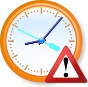 Analog Clock Warning