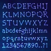 Star Design Series 09 Letters