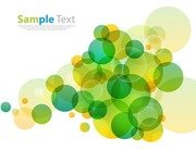 Abstract Design Circles Background