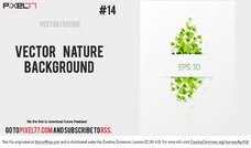 Free Vector Nature Background