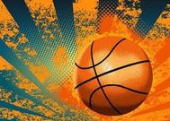 Grunge Background de basket-ball