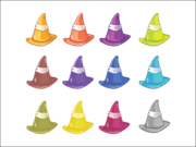 Colored Hats Colored Hats