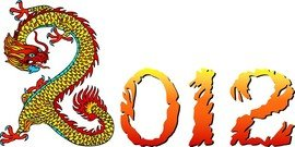 2012 Year Of The Dragon Creative Design 03