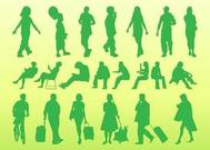 People Silhouettes Pack Graphics