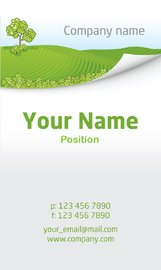 Nature Business Card Template