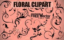 Free Vector Floral Clipart