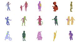 Kids Vectors Child Vectors Kids Silhouettes Kids Vectors