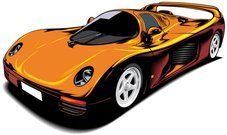 Beautiful sports car 02