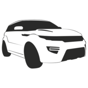 Range Rover Evoque Car Sketch