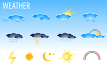 Free Vector Weather Icons Free Download