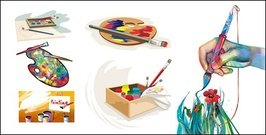 Vector drawing material