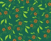 Vector background floral pattern