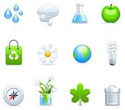 a variety of icon