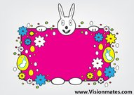 Easter Bunny Vector Free