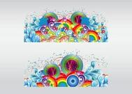 Colorful Design Elements