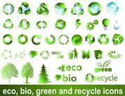 Recyclable Material Sign Vector Green Environmental Protection Recyclable