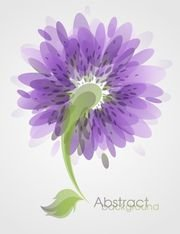 Fleur abstrait Background Vector Art