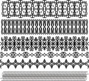 Classic traditional lace pattern 01